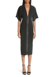 Cushnie et Ochs Kimono Sleeve Dress