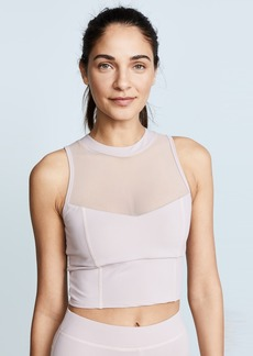 Cushnie Et Ochs Kira Sleeveless Crop Top