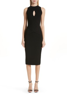 Cushnie et Ochs Knit Pencil Dress