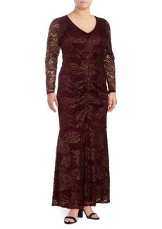 Cushnie et Ochs Lace Mermaid Dress