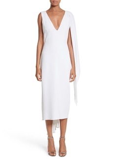 Cushnie et Ochs Leta Drape Dress