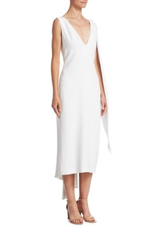 Cushnie Et Ochs Leta Drape Pencil Dress