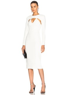Cushnie et Ochs Long Sleeved Pencil Dress