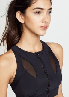 Cushnie Et Ochs Melusine Zip Crop Top