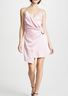 Cushnie Et Ochs Mini Dress with Dripping Ring