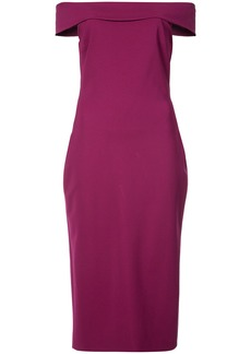 Cushnie Et Ochs off shoulder dress - Pink & Purple