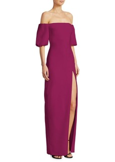 Cushnie Et Ochs Off-The-Shoulder Gown
