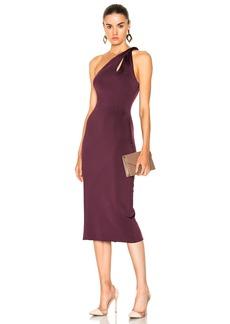 Cushnie et Ochs One Shoulder Dress with Twisted Strap