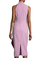 Cushnie Et Ochs Ruffled One-Shoulder Midi Dress
