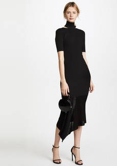 Cushnie Et Ochs Selima Short Sleeve Dress