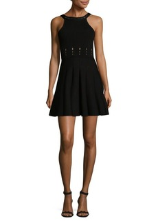 Cushnie et Ochs Sleeveless Mini Flare Dress