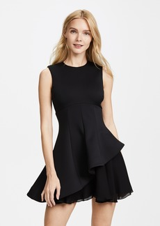 Cushnie Et Ochs Structured Fit & Flare Dress