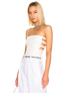 Cushnie Fitted Elastic Side Tank