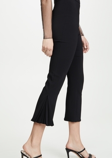 Cushnie High Waisted Cropped Fitted Pants