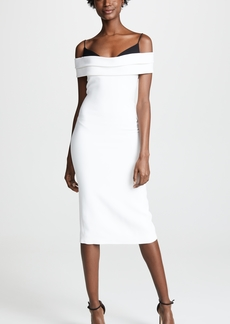 Cushnie Et Ochs Cushnie Off Shoulder Pencil Dress