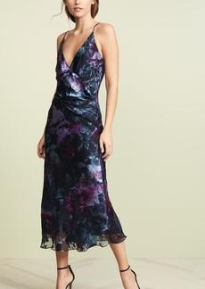 Cushnie Et Ochs Cushnie Sleeveless Deep V Midi Dress