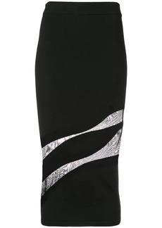Cushnie Et Ochs cut out pencil skirt