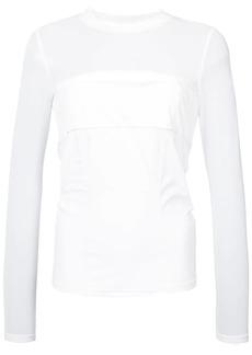 Cushnie Et Ochs Dominique mesh sleeve top