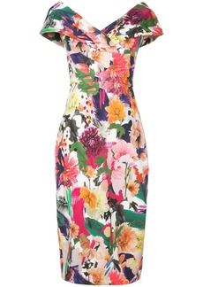 Cushnie Et Ochs floral print dress
