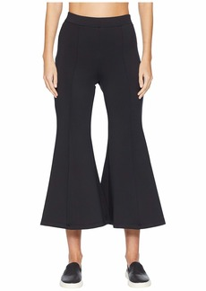 Cushnie Et Ochs High-Waisted Cropped Neoprene Flare Pants