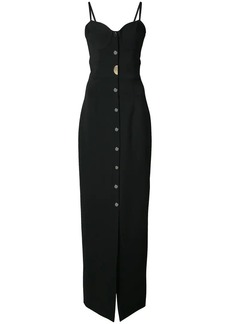 Cushnie Et Ochs long sweetheart dress