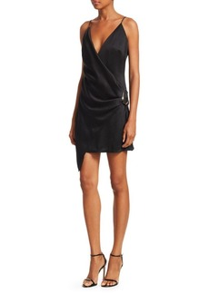 Cushnie Et Ochs Mini Wrap Dress