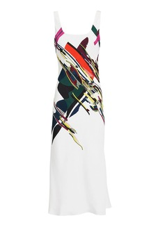 Cushnie Et Ochs Devona Abstract Print Dress
