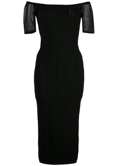 Cushnie Et Ochs ribbed knit dress