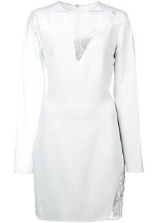 Cushnie Et Ochs sheer lace dress
