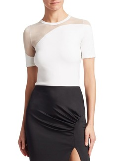 Cushnie Et Ochs Off-The-Shoulder Twist-Detail Pencil Dress