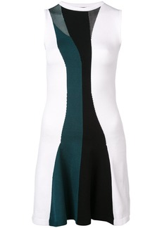 Cushnie Et Ochs striped skater dress