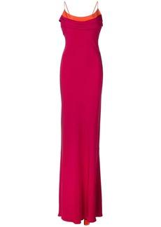 Cushnie Et Ochs two-tone gown