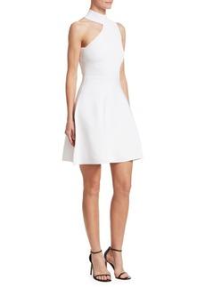 Cushnie Et Ochs Vika Mini Fit-&-Flare Dress
