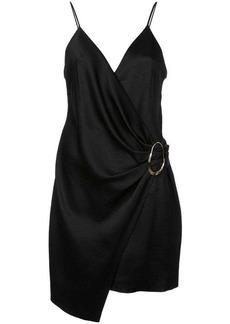 Cushnie Et Ochs wrap style mini dress