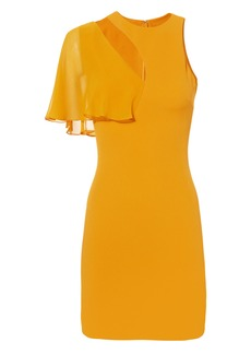 Cushnie Et Ochs Xandra Marigold Dress
