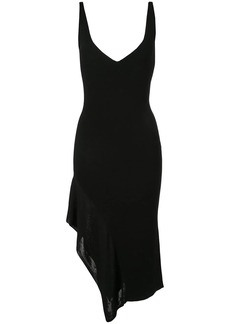 Cushnie fitted asymmetric hem dress