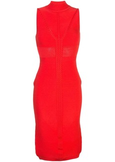Cushnie high neck pencil dress