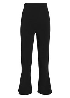 Cushnie High-Rise Cropped Stretch Pants