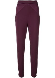 Cushnie high rise slim-fit trousers