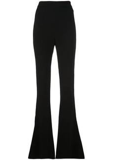Cushnie high-waist flared trousers