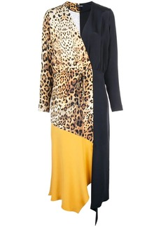 Cushnie leopard print dress