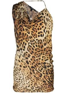 Cushnie leopard-print top
