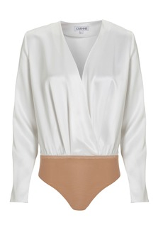 Cushnie Long Sleeve Bodysuit