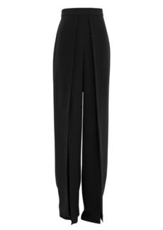 Cushnie Silk Wide Leg Pants
