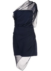 Cushnie strapless draped dress