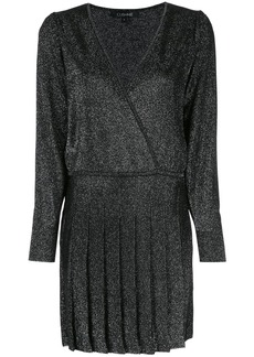 Cushnie v-neck wrap style dress