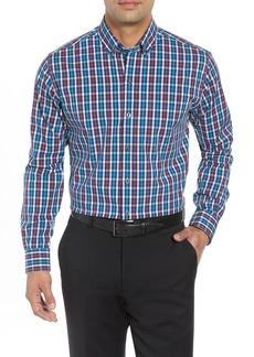 Cutter & Buck Albert Regular Fit Wrinkle Free Check Sport Shirt