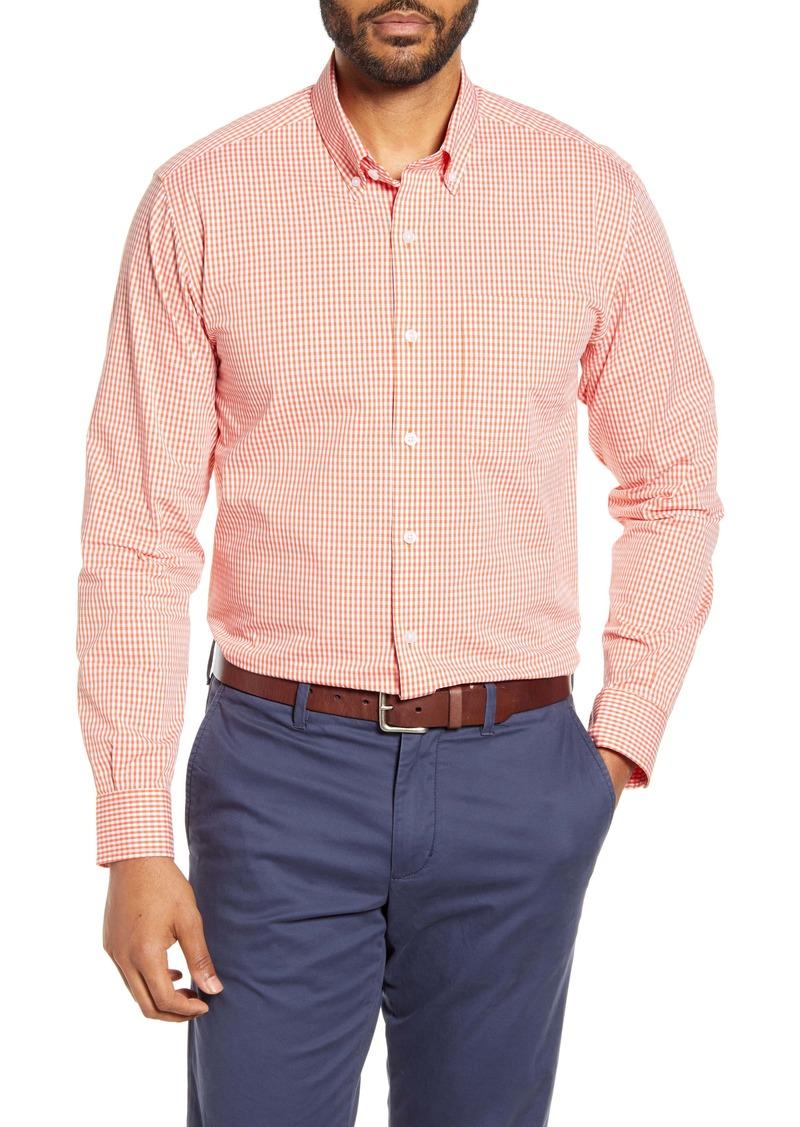 Cutter & Buck Anchor Classic Fit Gingham Button-Down Shirt