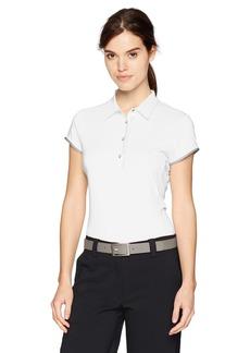 Cutter & Buck Annika by Women's Moisture Wicking UPF 50+ Cap Sleeve Competitor Polo Shirt