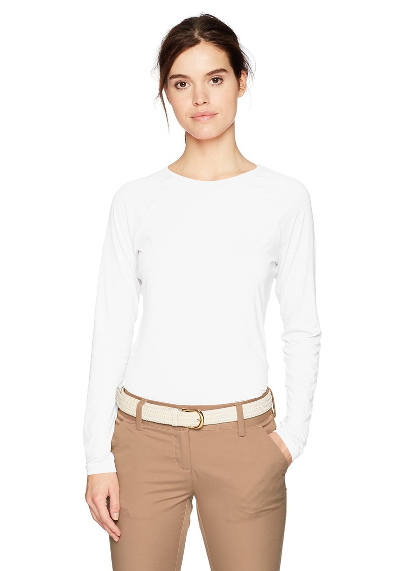 Cutter & Buck Annika by Women's Stretch UPF 50+ Sun Protection Long Sleeve Solar Guard Shirt